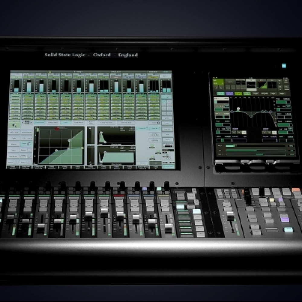 solid-state-logic-launched-new-l100-console