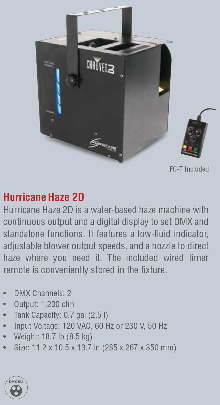 Hurricane Haze 2D