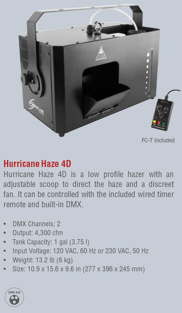 Hurricane Haze 4D