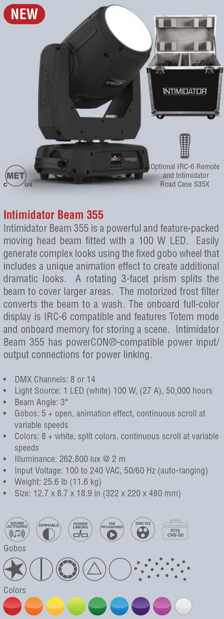 Intimidator Beam 355