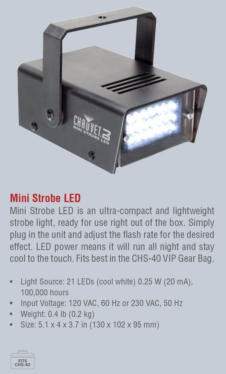 Mini Strobo LED
