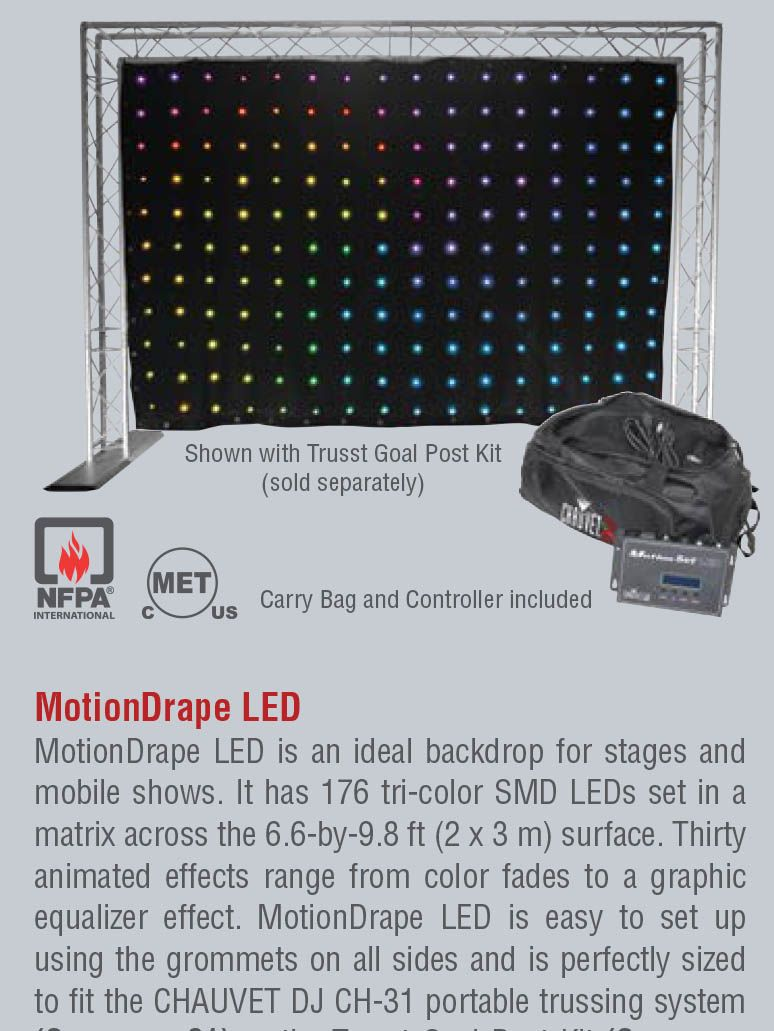 Motion DRAPE LED